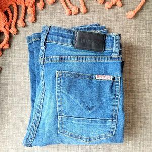 Hudson Lian Straight Leg Jeans Medium Wash
